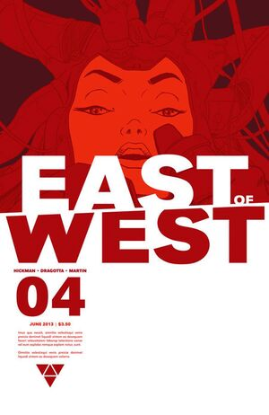 Cover for East of West #4 (2013)