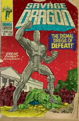 Cover for Savage Dragon #124 (2006)