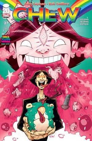 Cover for Chew #27 (2012)