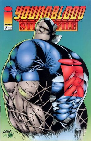 Cover for Youngblood Strikefile #5 (1994)