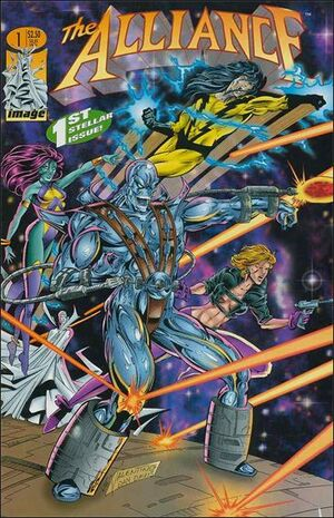 Cover for The Alliance #1 (1995)