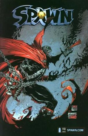 Cover for Spawn #113 (2001)