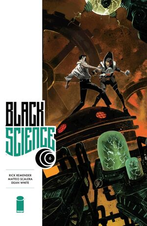 Cover for Black Science #6 (2014)
