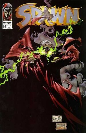 Cover for Spawn #54 (1996)