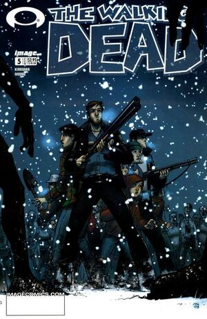 Cover for The Walking Dead #5 (2004)