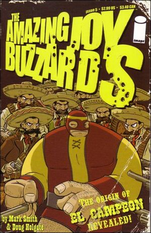 Cover for Amazing Joy Buzzards #5 (2006)
