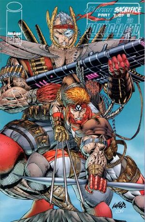 Cover for Team Youngblood #17 (1995)