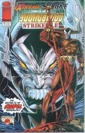 Cover for Youngblood Strikefile #11 (1995)