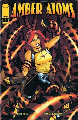 Cover for Amber Atoms #4 (2009)