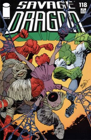 Cover for Savage Dragon #118 (2004)