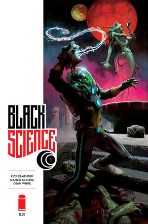 Cover for Black Science #1 (2013)