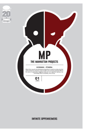 Cover for The Manhattan Projects #1 (2012)