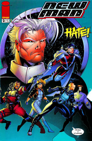 Cover for New Man #2 (1996)