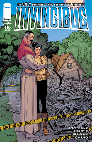Cover for Invincible #116 (2015)