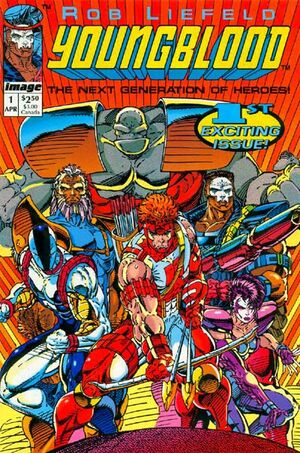 Cover for Youngblood (1992)