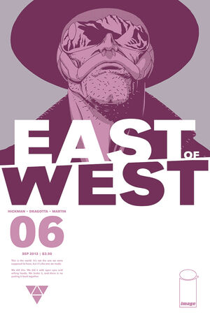 Cover for East of West #6 (2013)