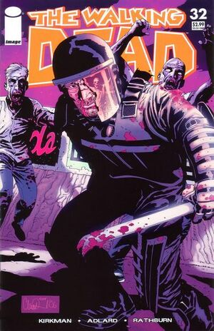 Cover for The Walking Dead #32 (2006)