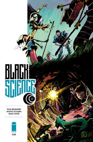 Cover for Black Science #11 (2014)