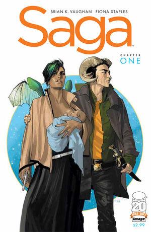 Cover for Saga #1 (2012)
