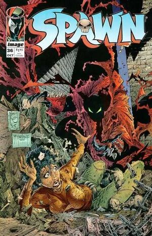 Cover for Spawn #36 (1995)
