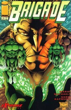 Cover for Brigade #5 (1993)