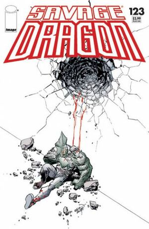 Cover for Savage Dragon #123 (2006)