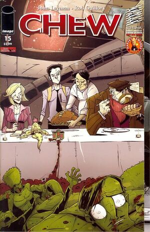 Cover for Chew #15 (2010)