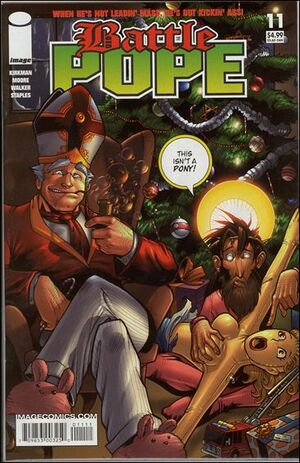 Cover for Battle Pope #11 (2006)