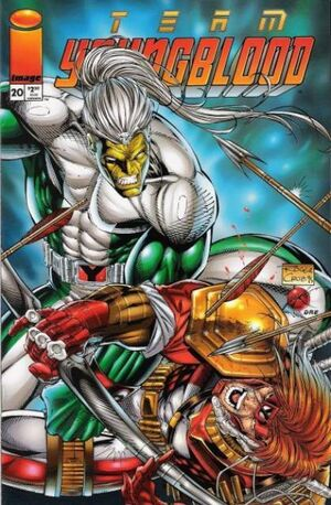Cover for Team Youngblood #20 (1995)
