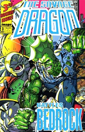 Cover for Savage Dragon (Mini-series) #3 (1992)