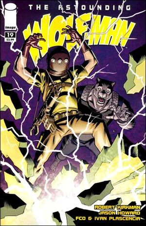 Cover for Astounding Wolf-Man #19 (2009)