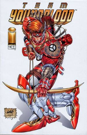 Cover for Team Youngblood #19 (1995)