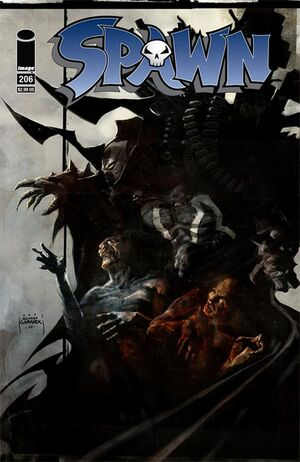 Cover for Spawn #206 (2011)