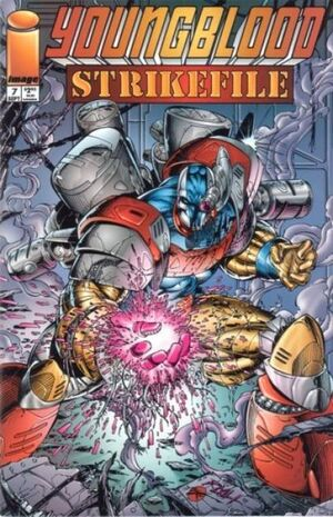 Cover for Youngblood Strikefile #7 (1994)