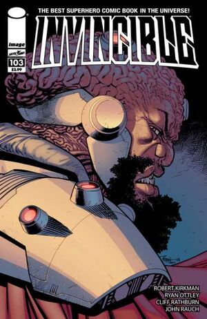 Cover for Invincible #103 (2013)