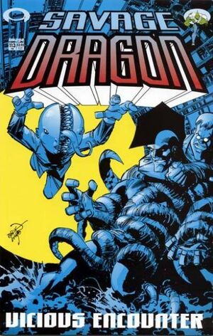 Cover for Savage Dragon #113 (2004)