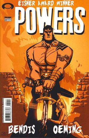 Cover for Powers #32 (2003)