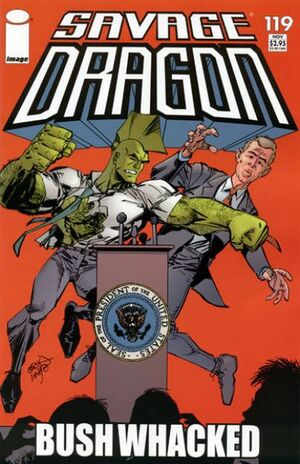 Cover for Savage Dragon #119 (2004)