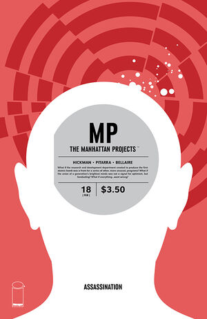 Cover for The Manhattan Projects #18 (2014)