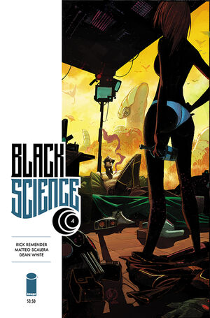 Cover for Black Science #4 (2014)