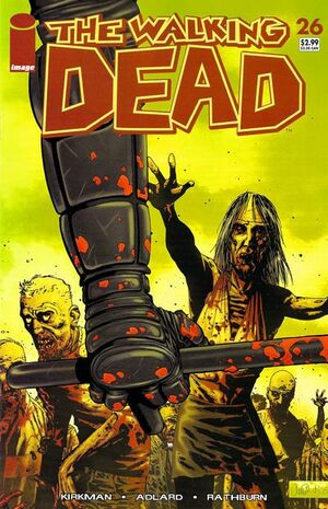 Cover for The Walking Dead #26