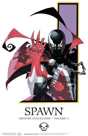 Cover for Spawn: Origins #4 (2010)