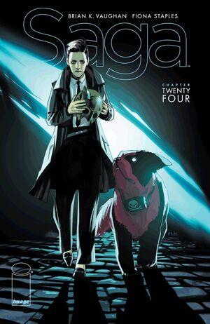Cover for Saga #24 (2014)