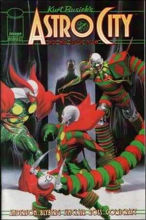 Cover for Astro City #11 (1997)
