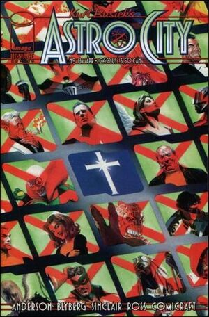 Cover for Astro City #8 (1997)