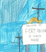 Fort Arcussin welcome, Heardonia County