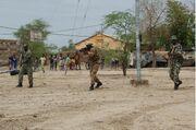 Mali army drill Tombouctou 070904