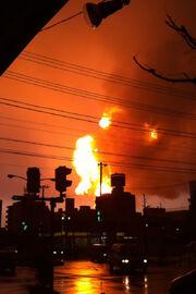 Cosmo Oil explosion 2 20110311