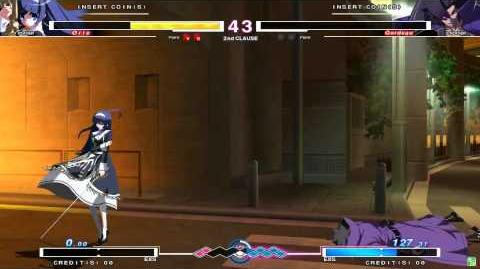 UNDER NIGHT IN-BIRTH Orie Gameplay