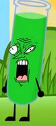Test tube's weird face